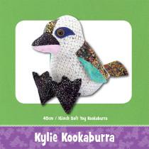 Kylie Kookaburra Soft Toy Sewing Pattern by Funky Friends Factory