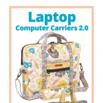 Laptop Computer Carrier Bag Sewing Pattern from byAnnie