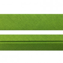 "25mm (1"") Single Fold 100% Cotton Bias Binding Lime"