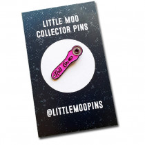 Little Moo Collector Pins - Roll On Pink Enamel Pin