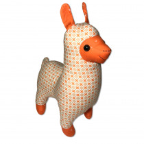 Funky Friends Factory Lloyd Llama Orange Soft Toy Making Kit