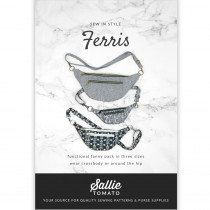 Ferris Bag Sewing Pattern by Sallie Tomato
