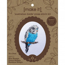 Make It Timber Frame Cross Stitch Kit Australian Birds