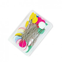 Matlida's Own Flower Head Pins - 50 x 0.55mm - 50pk