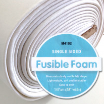 "Matilda's Own Single Sided Fusible Foam Stabiliser 58"" (147cm) wide"