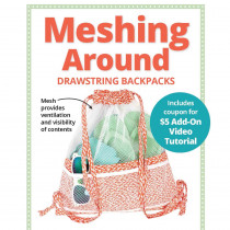 Meshing Around Drawstring Backpacks Sewing Pattern from byAnnie