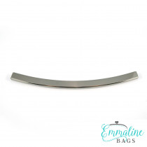 Emmaline Bags Metal Edge Trim: Style D - Curved Silver
