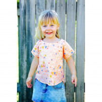 Mini Bondi Top & Dress Sewing Pattern by Sew To Grow