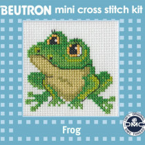 Beutron Mini Cross Stitch Kit Frog