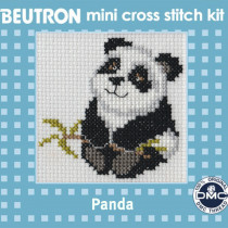 Beutron Mini Cross Stitch Kit Panda