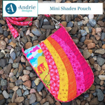 Mini Shades Pouch Sewing Pattern by Andrie Designs