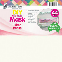 Matilda's Own Mask Filter Refills - 100% Polyester
