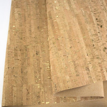 Portuguese Natural Cork Fabric Remnant 140cm x 45cm