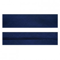 "25mm (1"") Single Fold 100% Cotton Bias Binding Navy Blue"