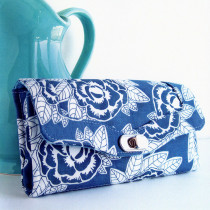 The Necessary Clutch Wallet Sewing Pattern by Emmaline Bags
