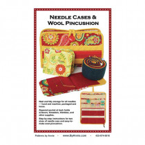 Needle Cases and Wool Pin Cushion Sewing Pattern from byAnnie