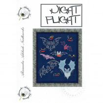 Night Flight Cross Stitch Chart from Alessandra Adelaide Needlework