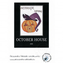 October House Cross Stitch Chart from Alessandra Adelaide Needlework