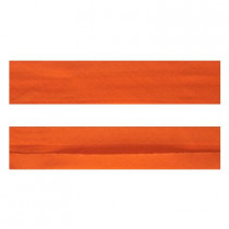 "12mm (1/2"") Single Fold 100% Cotton Bias Binding Orange"