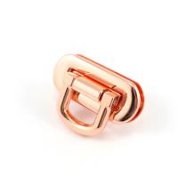 Emmaline Bags Oval Flip Lock Copper (Rose Gold)