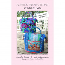 Poppins Bag Sewing Pattern with Stays by Aunties Two