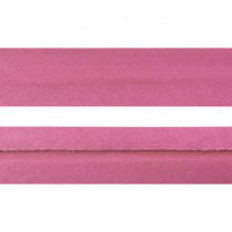 "12mm (1/2"") Single Fold 100% Cotton Bias Binding Pink"