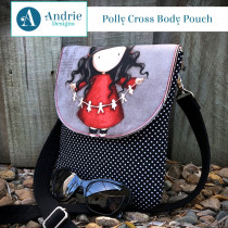 Polly Cross Body Pouch Sewing Pattern by Andrie Designs