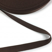 "Polypropylene Webbing - 25mm (1"") Brown"