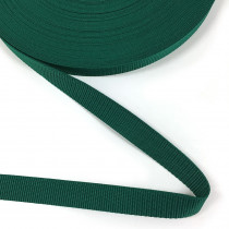 "Polypropylene Webbing - 25mm (1"") Forest Green"