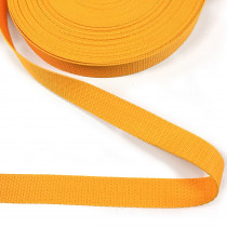 "Polypropylene Webbing - 25mm (1"") Gold"