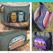 The Prairie Girl Bag Sewing Pattern by Emmaline Bags