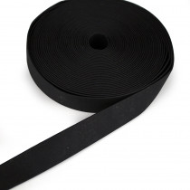 "Pre-made Cork Strapping 25mm (1"") Wide Black"