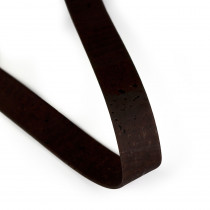 "Portuguese Pre-made Cork Strapping 25mm (1"") Wide Brown"