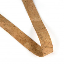"Portuguese Pre-made Cork Strapping 25mm (1"") Wide Surface Natural"
