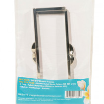 Modern Clutch Extra Frame Pack Silver - 2 Pk