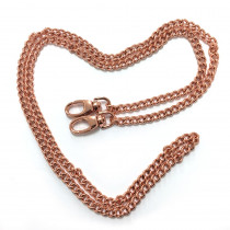 "Emmaline Bags Purse Chain w/ Swivel Snap Hooks Copper 112cm (44"")"