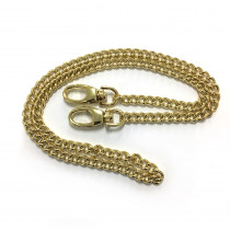 "Emmaline Bags Purse Chain w/ Swivel Snap Hooks Gold 66cm (26"")"