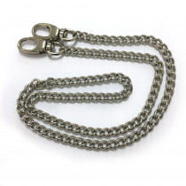 "Emmaline Bags Purse Chain w/ Swivel Snap Hooks Silver 66cm (26"")"