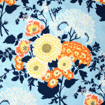 Botanique Bold Bouquet Deepwater By Free Spirit Fabric