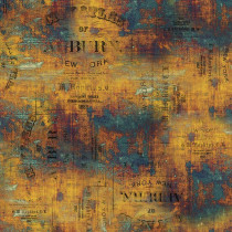 Tim Holtz Eclectic Elements Abandoned Urban Grunge Patina By Free Spirit Fabric