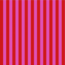 Tula Pink True Colors Stripes Petunia (Red and Pink) By Free Spirit Fabric