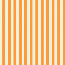 Tula Pink True Colors Tent Stripes Begonia (Cream and Orange) By Free Spirit Fabric