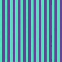 Tula Pink True Colors Tent Stripes Iris (Aqua and Purple) By Free Spirit Fabric
