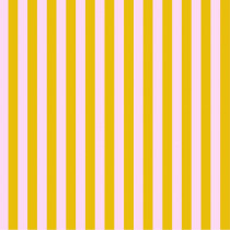 Tula Pink True Colors Tent Stripes Marigold (Light Pink and Yellow) By Free Spirit Fabric