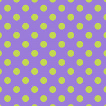 Tula Pink True Colors Pom Poms Orchid (Light Green and Purple) By Free Spirit Fabric