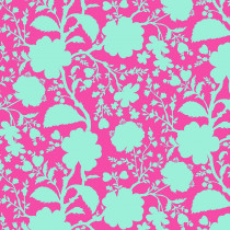 Tula Pink True Colors Wildflower Azalea Pink/Blue By Free Spirit Fabric