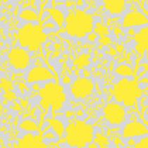 Tula Pink True Colors Wildflower Daisy Yellow/Grey By Free Spirit Fabric