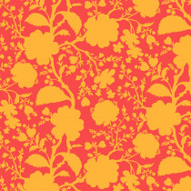 Tula Pink True Colors Wildflower Snapdragon Orange By Free Spirit Fabric