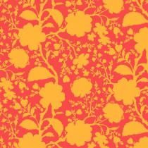 Tula Pink True Colors Wildflower Snapdragon Orange By Free Spirit Fabric