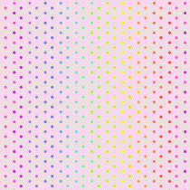 Tula Pink True Colors Hexy Rainbow Shell Pink By Free Spirit Fabric